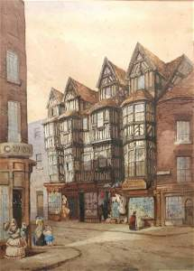276B: Attributed to Emily Hay, 'The High Street, Shrews