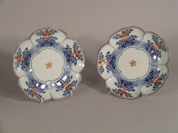 12C: Ten Japanese imari plates, early 20th century, eac