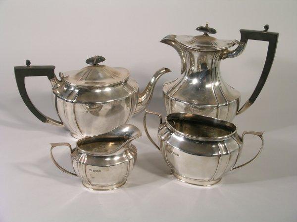 24B: A four piece tea and coffee service, Sheffield 192