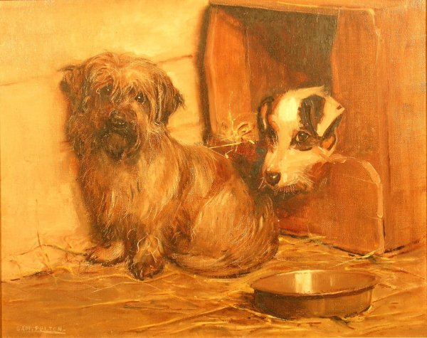 336B: Samuel Fulton (1855-1941), 'Waiting for supper -