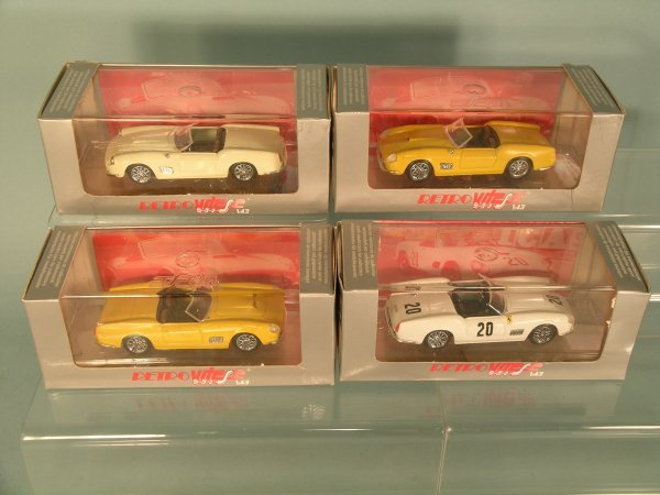 6C: Ten boxed Vitesse models no. 140 a Ferrari 250 Spid