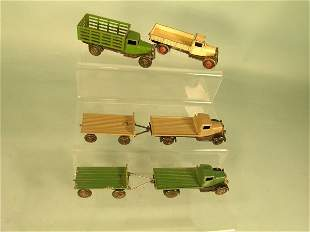 A group of four Dinky Toys 25 series lorries, to i