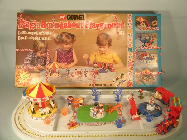 14C: A Corgi boxed Magic Roundabout playground, no. 853