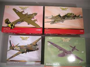 Corgi Aviation Archive, four 1:72 scale models No.