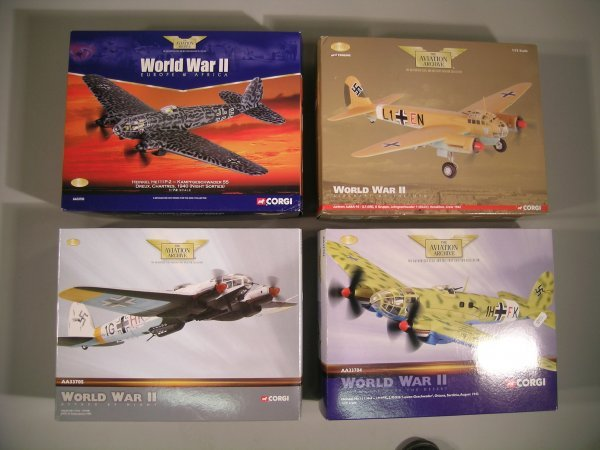 17C: Corgi Aviation Archive 1:72 scale AA33705 a Heinke