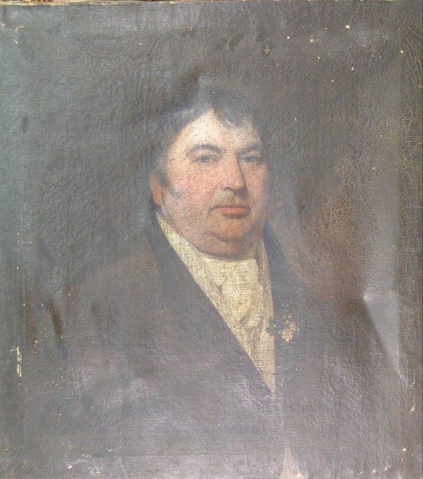 11B: English School, early 19th century, 'Portrait of a