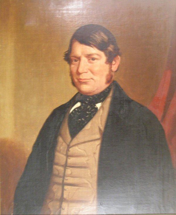 24B: English School, 19th century, 'Portrait of Stephen