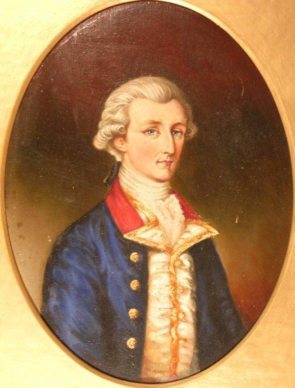 31B: Christina Norie, 'Portrait of James Norie of Burr