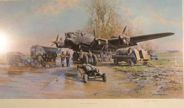 114B: David Shepherd, 'Winter of '43, somewhere in Engl