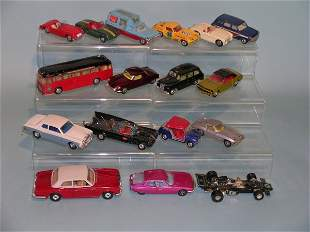 A group of Corgi toys dating from 1960s and early 1