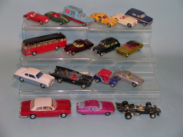 3C: A group of Corgi toys dating from 1960s and early 1