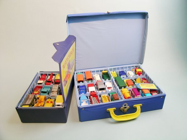 15C: A group of sixty Matchbox miniature models dating