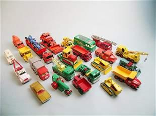 A collection of twenty Matchbox kingsize models da