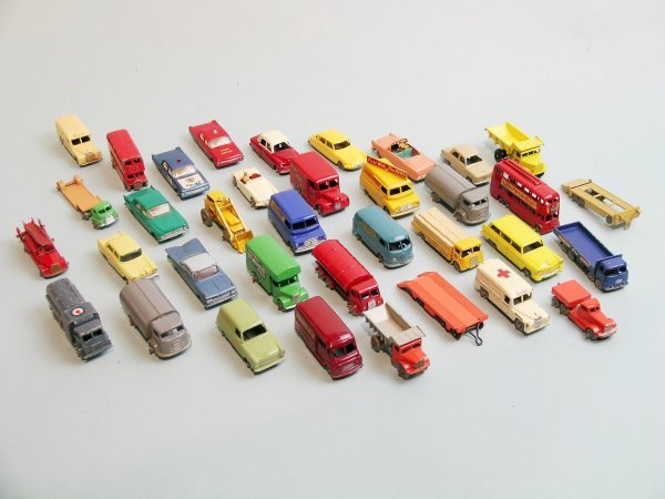 22C: A group of Matchbox vehicles to include three boxe