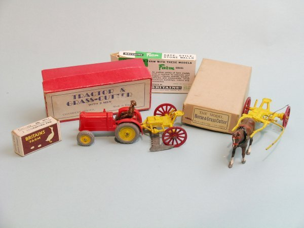 24C: A Charbens tractor and grass cutter from the immed