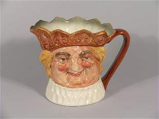 A Royal Doulton musical character jug of Olde King