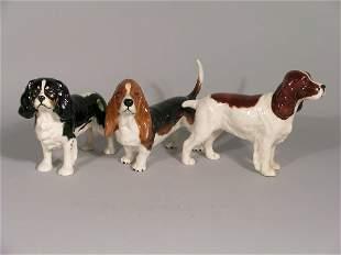 Three Beswick dogs, to include; Cocker Spaniel Hor