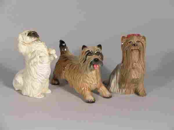 Three Beswick dogs, to include; Cairn Terrier, sec