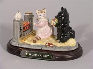 World of Beatrix Potter, Beswick, Duchess & Ribby