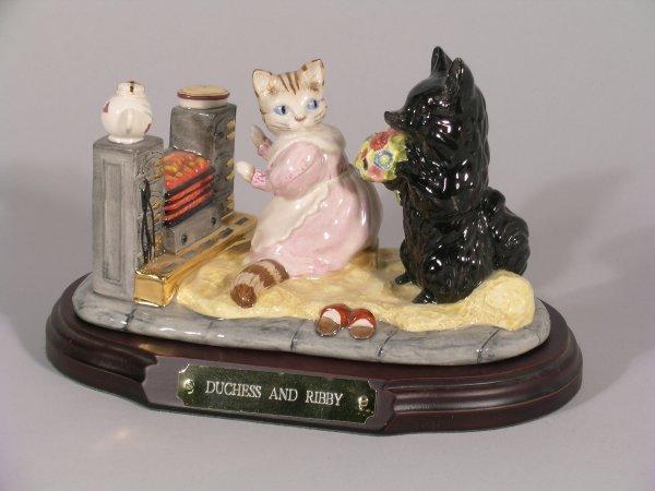 19B: World of Beatrix Potter, Beswick, Duchess & Ribby