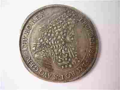 287B: An Austrian silver Thaler Leopold I (1658-1705),