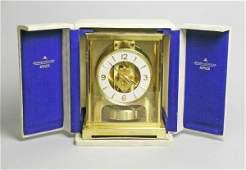 124C: A Jaeger Le Coutre Atmos clock, no. 206997, the f