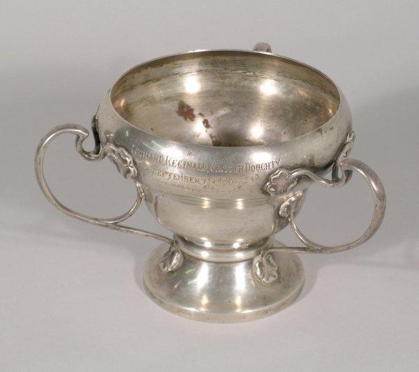 5B: An Art Nouveau pedestal cup J and W Deakin, Chester