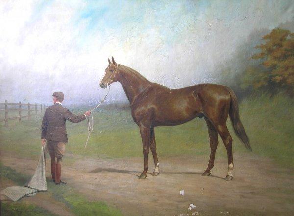 "306B: Percy Earl (1847-1947) '""Cicero"", winner of the D"