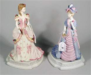Two Coalport figures from the Turn of the Century s