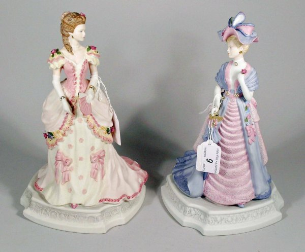 9C: Two Coalport figures from the Turn of the Century s