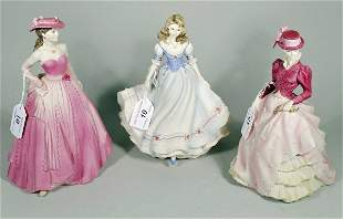 Three Colaport figures to include; Age of Elegance