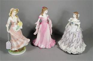 Three Royal Worcester figures, to include; The Las