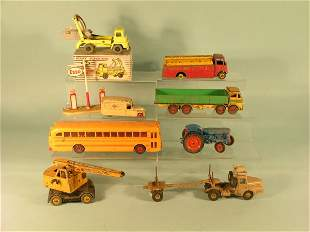 A mixed group of unboxed Dinky Supertoys (suitable