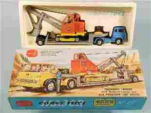 A Corgi Major Toys gift set No. 27, a Machinery Ca