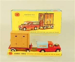 A boxed Corgi Toys gift set No.19 Chipperfield Lan