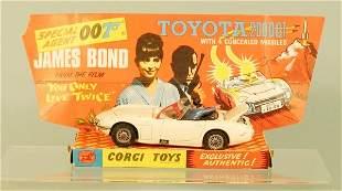 A Corgi Toys No.336 James Bond Toyota 2000 GT, the