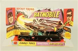 A boxed No.267 Corgi Batmobile the model contains