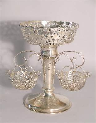 A silver epergne George Jackson and David Fullerton