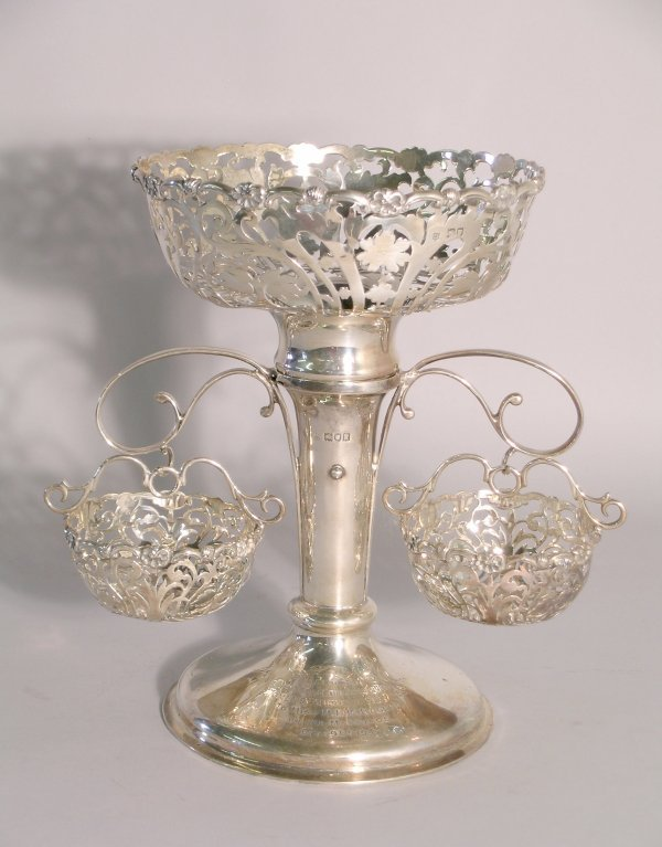 7C: A silver epergne George Jackson and David Fullerton