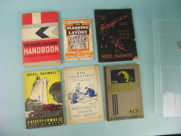 19C: A group of model railway handbooks dating from bef