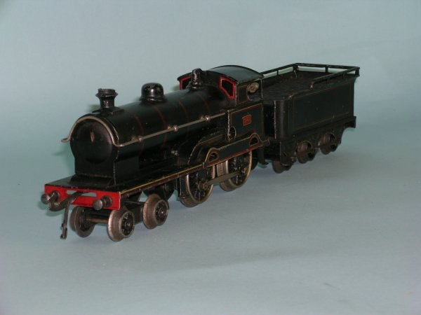 22C: An early 20th century locomotive and tender by Mar