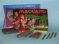 67C Two boxes containing a quantity of Meccano parts