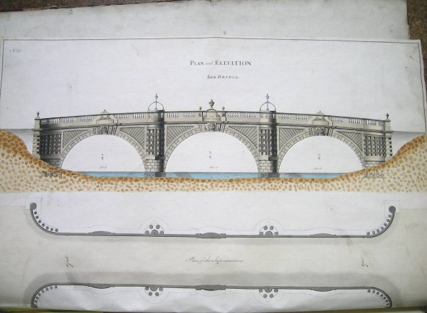 225D: A folio of architectural drawings by William Hayw