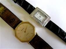 435D A gentlemans gold plated Bulova quartz wristwatc