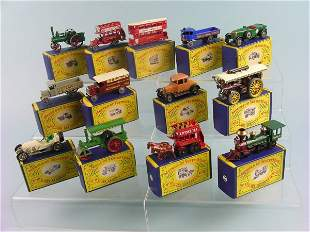 A group of thirteen boxed first series Models of Y