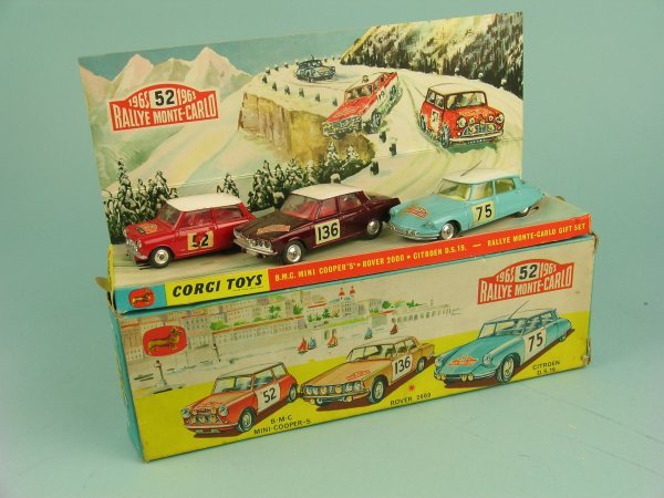 59B: A boxed Corgi Toys Gift Set No.38 A Rally Monte-Ca