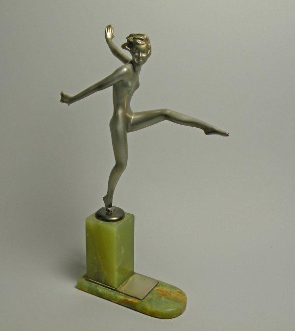 20D: An Art Deco figure by Josef Lorenzl (1892-1950), d
