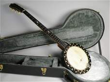 455B A Windsor No 2 zither banjo the neck mother of