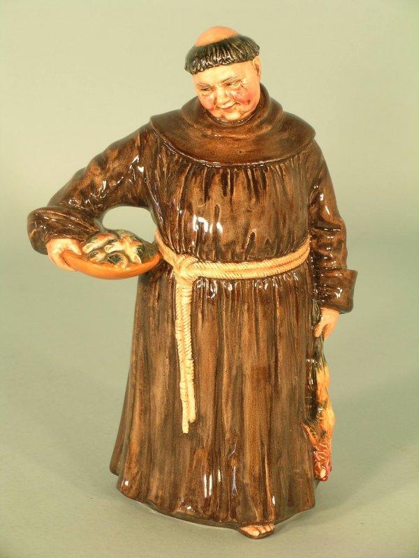 14C: A Royal Doulton figure The Jovial Monk HN2144, des
