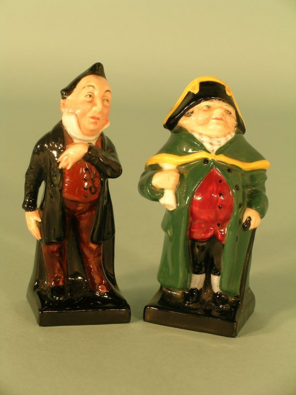 21C: Two Royal Doulton figures from the Dickens Series,